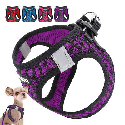 Soft Breathable Mesh Small Dog Vest Harness for Puppy Cat Pet Chihuahua Yorkie