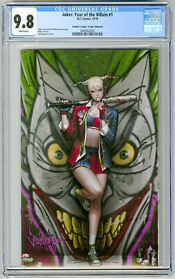 Joker Year Of The Villain #1 CGC 9.8 Golden Apple Edition JeeHyung Lee Cover