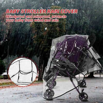 Universal Weather Shield Stroller Rain Cover Canopy Stroller Pushchairs Cover
