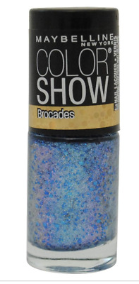 Maybelline New York Color Show Brocades Shade 222 Beaming Blue New Glitter