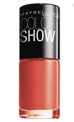 Maybelline New York Color Show Shade 110 Urban Coral New