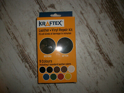 kraftex leather vinyl repair kit, neu