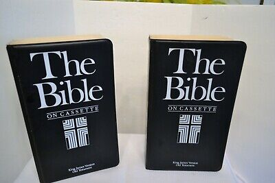 The Bible On Cassette Volume I and II  King James Version Old Testament