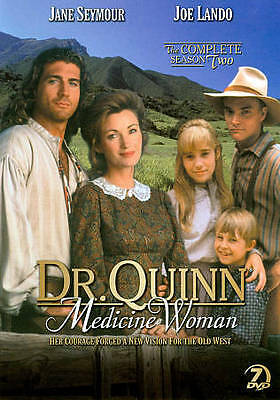 Dr. Quinn, Medicine Woman - The Complete Second Season 2 2nd DVD Set NEW SEALED