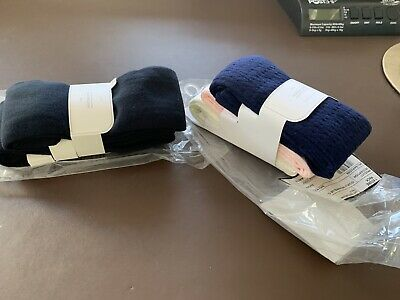 Mothercare Girls 6-7 Years 5 Pairs Of Tights - 2 Black -3 Cable Navy/Cream/pink