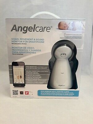 Angelcare Video, Movement, and Sound Baby Monitor for Smartphone AC1200