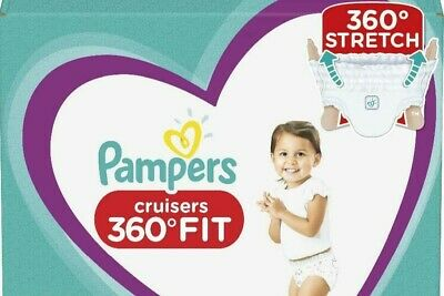Pampers Cruisers 360 3, 4, 5, 6 *You Choose Count