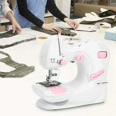 Portable Electric Sewing Machine Desktop Household Tailor Speeds Foot Pedal NEW