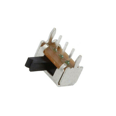 3X OS102011MA1QS1 Switch: slide Pos: 2 SPDT 0.1A/12VDC ON-ON Mounting: THT C&K