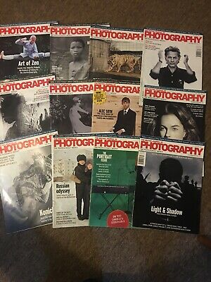 Professional Photography Magazines The British Journal of Photographry bjp x 12