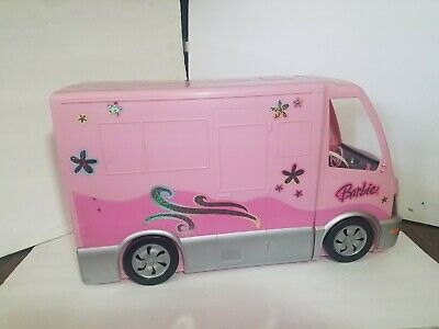 2006 Barbie Hot Tub Party Bus Motor Home Camper RV Mattel