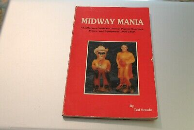 Vintage Midway Mania Guide To Carnival Plaster Figurines 1985
