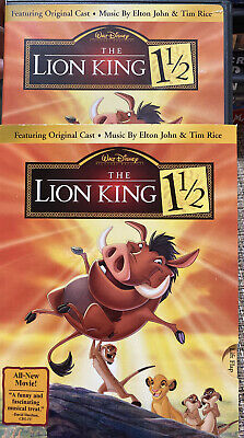 Disney The Lion King 1 1/2 (DVD, 2004, 2-Disc Set) U.S. Issue Disc Only!