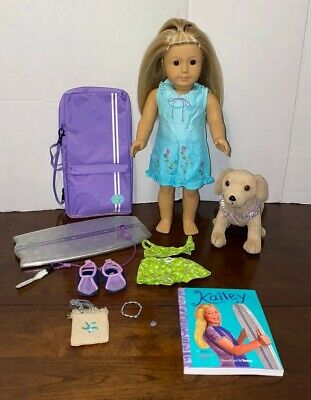 American Girl Doll Kailey Girl of The Year 2003 Lot