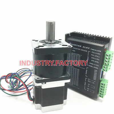 Nema23 1.8Nm Stepper Motor L76mm & 5:1 Planetary Gearbox & Driver CNC Router Kit