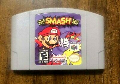 for Super Smash Bros 64 (Nintendo 64) Video Game BRAND NEW Condition