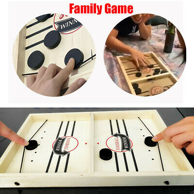 Fast Sling Puck Game Paced Sling Puck Winner Board Family Games Toys Juego Hot %