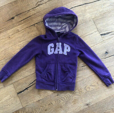 Girls gap Hoodie Purple Lilac Age 6-7 S