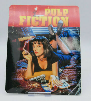 PULP FICTION - Classic Glossy Bluray Steelbook Magnet Cover (NOT LENTICULAR)