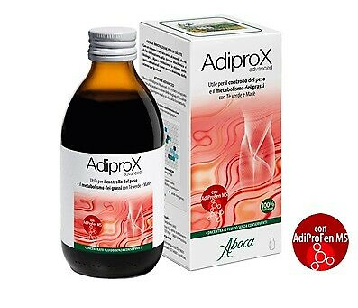 Adiprox Advanced Concentrato Fluido Controllo Del Peso E Metabolismo Grassi