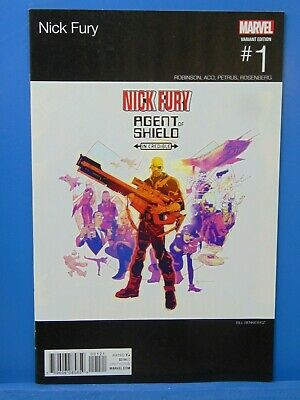 Nick Fury #1 Hip Hop Variant Edition  Marvel Comics CB16462