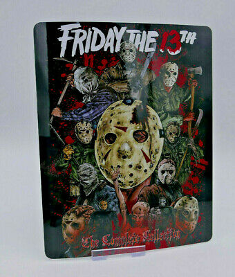 FRIDAY THE 13th Collection - Bluray Steelbook Magnet Cover (NOT LENTICULAR)