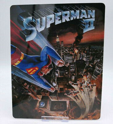SUPERMAN 2 christopher reeves - Bluray Steelbook Magnet Cover (NOT LENTICULAR)