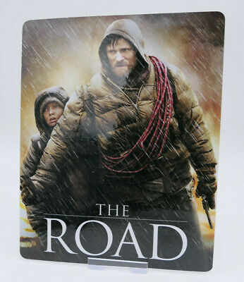 THE ROAD - Glossy Bluray Steelbook Magnet Cover (NOT LENTICULAR)