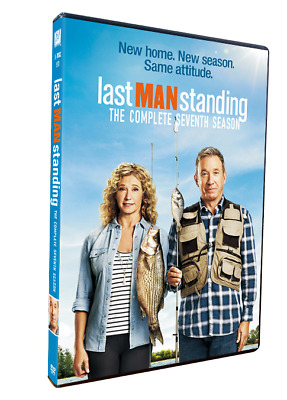 Last Man Standing Season 7 (DVD, 3-Disc Set) BRAND NEW US Seller