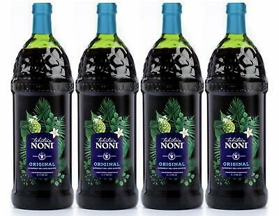 The Original Authentic TAHITIAN NONI Juice | 1 Liter Bottle | Pack of 4