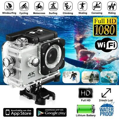 Pro Cam Sport Action Camera 4K Wifi Ultra Hd 1080P Dvr  Videocamera Telecomando