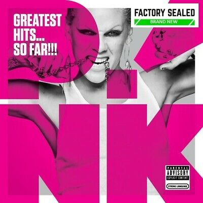 PINK ‎–  Greatest Hits... So Far!!!  16 x Track Digipak CD NEW