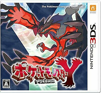 3DS Pokemon Y Free Shipping with Tracking number New from Japan