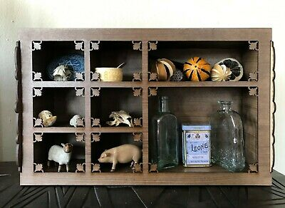 Gothic Style Cabinet of Curiosities for Your Curiosities,Keepsakes,Objets d'Art