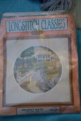 NEW SEMCO Longstitch STARTER KIT with Wool-Canvas. #3250-0006. Prospect House