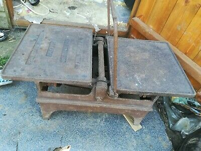 J & J Siddons Weighing Scales Antique