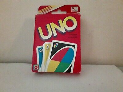 UNO Card Classic Game Wild Card Matching Colors Numbers Deck Complete