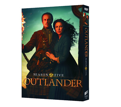 Outlander Season 5 [4 DVD] 2020 NEW NEW NEW