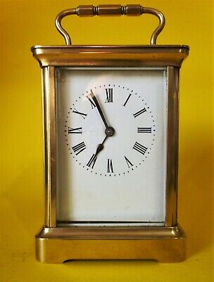 ACG Vintage English 8 day carriage clock.
