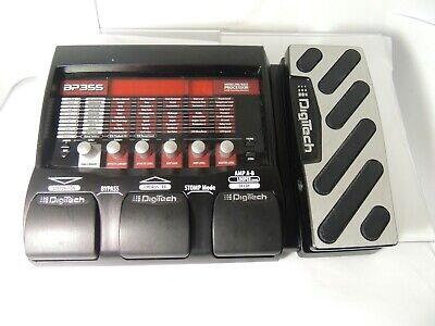 Digitech BP-355 Bass Multi Effects Pedal Processor Free USA Shipping