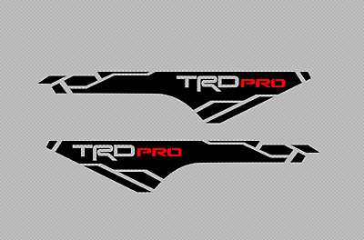 2X Toyota Tacoma TRD PRO 2016-2020 side Vinyl Decals stickers