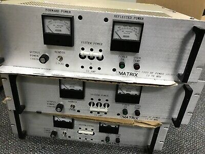 Comdel Inc CPS-1000-M 13.56MHz RF Power Source For Matrix 10 Asher AWD-D-3-3-4