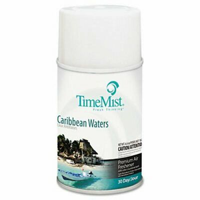 Timemist Metered Fragrance Dispenser Refill, Caribbean Waters (TMS1042756EA)