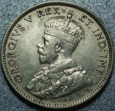 """1911 Only CANADA 1 Year """"GODLESS"""" Type 925 Pure SILVER 10¢ CENT or Dime GEORGE V"""