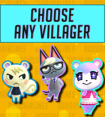 Raymond Judy Marshal Bob Lucky ANY Villager - Animal Crossing New Horizons ACNH