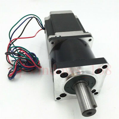 Ratio 30:1 Nema23 Planetary Gearbox Stepper Motor Geared 3A L56mm Speed Reducer