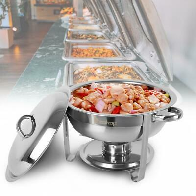 1Pack Catering Stainless Steel Chafer Chafing Dish Sets 5 Qt Party 2020