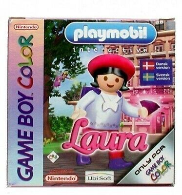 Nintendo GameBoy Color game - Playmobil: Laura cartridge