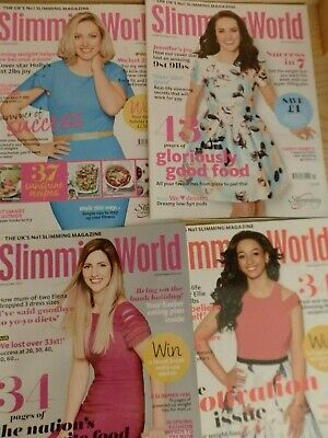 4 Slimming World Magazines 2017.  Great Information And Recipes.