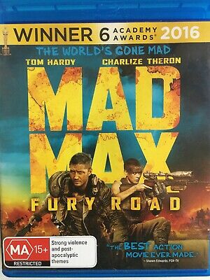 MAD MAX: Fury Road (2015) - BLURAY AS NEW!